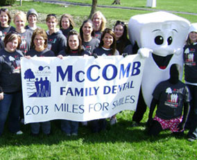 McComb Family Dental miles for smiles